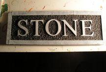 Polystyrene / Styrofoam / Polystyrene / Styrofoam with laser cutter or laser engraving