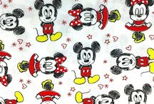 Cartoon Character Fabric / Your behind the scenes look book of cartoon character fabric