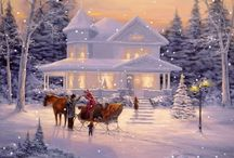 Christmas Scenes / by MaryAnn Wertswa Reuter