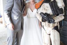 Star Wars Wedding / Fun wedding details with a Star Wars theme!
