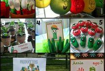 veggie tales bday party