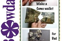 How to / How to board for craft tutorials  / by Bowdabra @Bowdabra.com