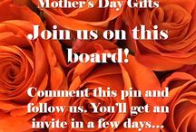 Mother's Day Gifts / Special gifts for a special day. Make this Mother's Day unforgettable for your Mom. Show her how much you care with an original keepsake gift she will treasure. Presents, packages and cards for her as a token of your love.