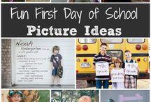 Skylars first day ideas