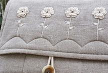 Couture : projets / sacs pochettes corbeilles pochons à coudre