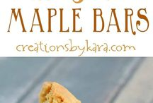 Bar cookie recipe