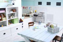 Home: Kid's Craft Room / by Soraya Deborggraeve