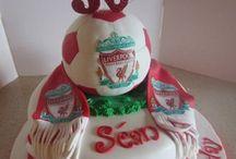 Amish's birthday cake