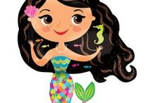 Mermaid Theme Birthday Party Decorations and Ideas / Throw an amazing Mermaid Theme Party! We have put together a collection of our favorite Mermaid Friends Party Decorations and other awesome ideas. Here are some great Mermaid party Pins and a collection of our most popular Mermaid Friends Party Supplies, which can also be found at http://www.ezpartyzone.com/cat-little-mermaid-party-supplies.cfm