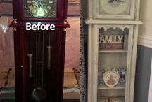 furniture, decor makeovers / refurbished stuff.