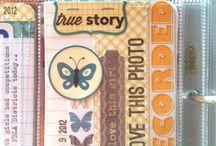 Скрапбук Альбом Project Life / Идеи оформления воспоминаний Проджект Лайф - скрапбукинг в кармашках