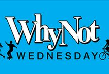 """Why Not Wednesday / We would love to hear from you. It's week one of #WhyNotWednesday. No questions. Just add your own """"why not"""" from your wish list of outdoor activities in Utah's beautiful natural surroundings."""