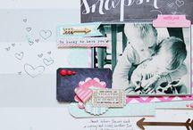 Ideas for Quinn's scrapbook