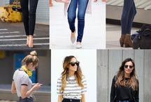 cweterki i spodnie ,bluzki