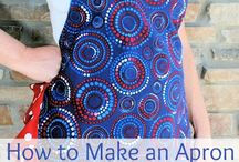 apron / by Bev and John