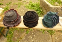 Hats:  Hand Felted / Hand Felted Wool Hats
