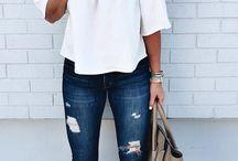Темная джинса