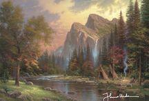 Painter Of Light.....Thomas Kinkade