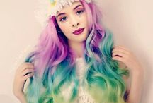 Rainbow hair / Awesome unicorn things and hair