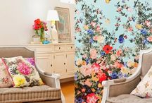 Wallpapers & Wall Murals / Shut the door on boring and treat your walls to these stunning wallcovering options