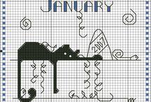kalendarz kot