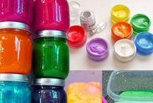 homemade paints