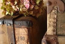Malles anciennes / Des malles anciennes pour décorer