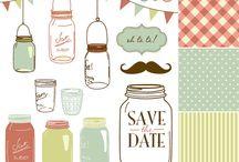 wedding logos & prints