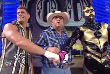 Goldust with his family