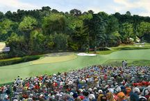 The 2010 Masters at Augusta by Jeffrey Smith Illustrator