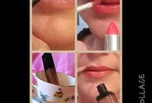 Lips / Lipsticks and LipGlosses with Lip Liners