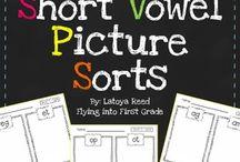 Short Vowels / by Melissa Hicks