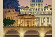 открытки - страны и города мира