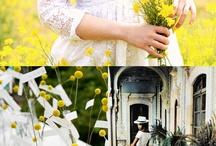 wedding color/yellow