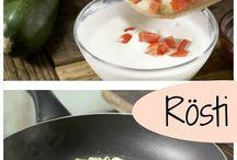 Gemüse Rösti