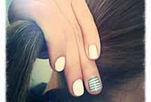 Nails / Shellac nails O.p.i And Gelish with Morgan taylor