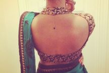 saree and lengha