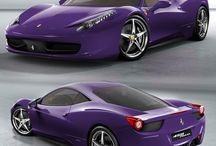Ferraris / Different colour ferraris
