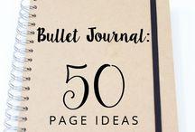 Bullet Journal Inspo