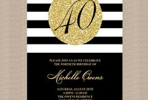 70th Party Invites