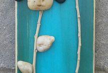 Arte con ciottoli