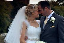 Claire Mischevani Brides / A selection of Brides that wore bespoke gowns by Claire Mischevani...