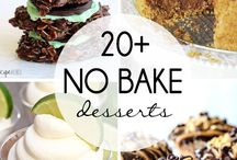 No bake recipes