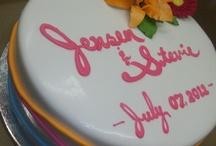 Bridal Shower/Anniversary Cakes