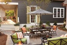 Patio and backyard / Ideas for our backyard haven