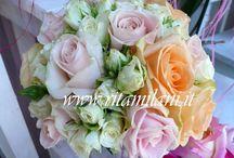 CRISTINA & ALBERTO / PEACH , SWEET & WHITE , THE BEST AVALANCHE ROSES