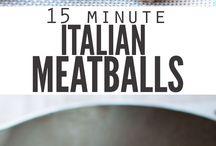 Meatballs Klopsiki, pulpety, kotlety