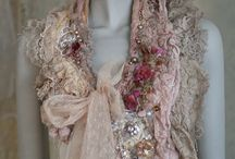 shabby chic scarves