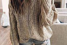 flette genser og kjolegenser
