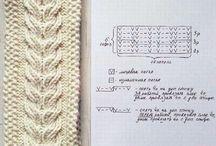 knit узоры